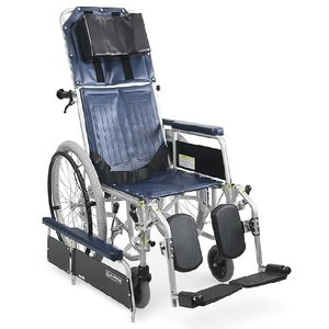 リクライニング式車椅子(車いす)自走式 カワムラサイクル RR42-N(RR40-Nの後継商品です) スチール製車椅子|kenkul