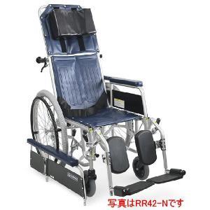 リクライニング式車椅子(車いす)自走式 カワムラサイクル RR42-NB(RR40-NBの後継商品です) スチール製車椅子|kenkul