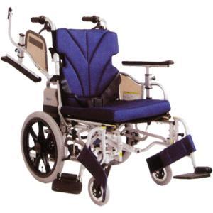 車椅子(車いす) 介助者アシスト電動車いす  カワムラサイクル KZ16-38-LO-ABF2/AW KZ16-40-LO-ABF2/AW・UL-502046|kenkul