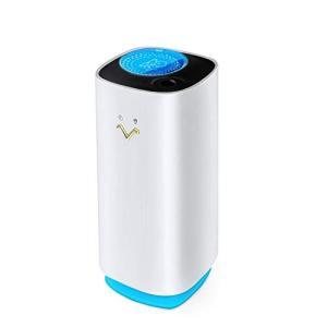 加湿器 卓上加湿器 車用加湿器 ペットボトル 320ml USB充電式 LED星空投影 6時間連続加湿 空焚き防止 超音波式 車載 超静音 日本語説明|kenny-itigouten