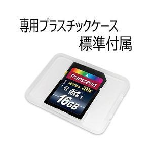 【Amazon.co.jp限定】Transcend SDHCカード 16GB Class10 無期限保証 TS16GSDHC10E FFP