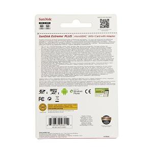 サンディスク Sandisk microSDXC 64GB Extreme SDHC変換アダプター付属 UHS-I 80MB/s 海外パッケージ