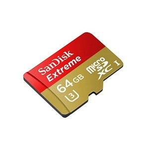 SanDisk/サンディスク microSDXCカード 64GB Extreme U3 4K対応 400X 60MB/s 海外リテール SDSDQX