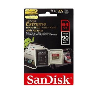 SanDisk microSDXCカード サンディスク Extreme U3 超高速 並行輸入品 64GB