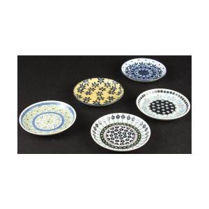 アワサカ ポタリーフィールド パン皿セット 7-1803