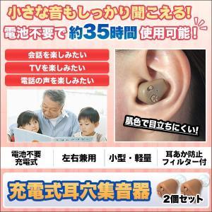 「充電式耳穴集音器」2個セット