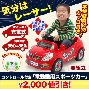 コントローラー付き「電動乗用スポーツカー」|kensei-online