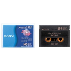 人気商品SONY 4MM DATA TAPE 20GB DDS4 DGD-150P|kenseido