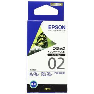人気商品EPSON 純正インクカートリッジ IC1BK02(モノクロインクカートリッジ)|kenseido