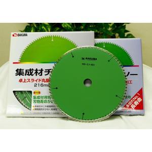 バクマ 集成材用チップソー195×80P|kensetusizai-a1pha