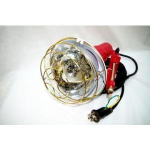 投光器アース付 300W 5mコード 折ピンプラグ付(2芯×3芯兼用プラグ)305|kensetusizai-a1pha