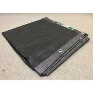 防炎メッシュシート(ブラック)黒1.8×5.1(ハトメピッチ425(10枚入)日本防炎協会認定品 足場メッシュシート|kensetusizai-a1pha