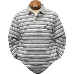マックレガー メンズ 長袖ポロシャツ 111618603 長袖シャツ LL|kenshima