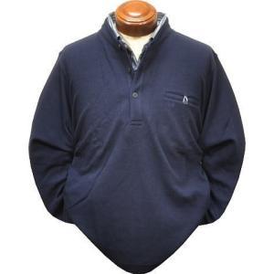 マクレガー メンズ 長袖ポロシャツ 111618702 フェイクレイヤード 長袖シャツ L.LL|kenshima