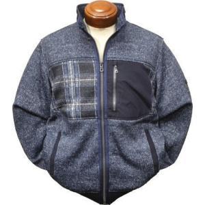 マックレガー フリースジャケット メンズ 111819801 裏地付き プリントフリース M.L.LL|kenshima