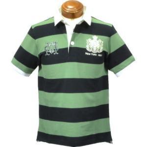 マックレガー メンズ 半袖ポロシャツ 112627301 半袖ラガーシャツキングサイズ3L 3L|kenshima