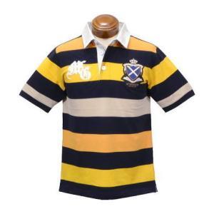 マックレガー 半袖ラガーシャツ メンズ 112629101 半袖ポロシャツ キングサイズ 3L|kenshima