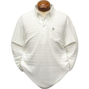 マンシングウェア ボタンダウン長袖ポロシャツ メンズ MGMOJB07 吸放湿 長袖シャツ 2019年秋冬新作 M.L.LL.3L|kenshima