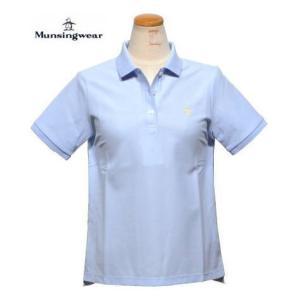 マンシングウェアー  半袖ポロシャツ(形態安定加工) レディース XSL1600AX M.L.3L|kenshima