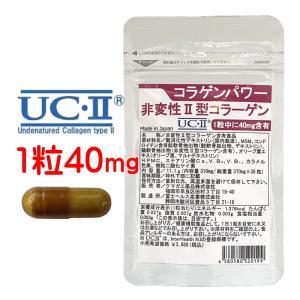 非変性2型コラーゲン UC-II 30日分 コラパワー II型コラーゲン サプリ MSM コンドロイ...