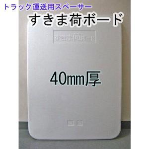 すきま荷ボード 40mm厚×900mm×1200mm 8枚入り【荷崩れ防止に最適!】《送料無料》|kenzai-wanipark