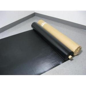 塩ビ養生シート 黒 0.3mm厚x1mx30m巻(003081) 1本《お勧め商品》|kenzai-wanipark