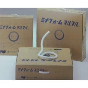 バックアップ材 丸棒 ミナフォームマルマル 10Ф 250m巻【白/グレー】《5ケース以上送料無料》 kenzai-wanipark