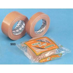 【布粘着テープ900】50mm巾x25m巻 30巻入(1ケース)|kenzai-wanipark
