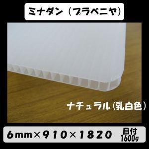 ★ミナダン 6mmx910x1820 目付1600g 20枚入り《送料無料》|kenzai-wanipark