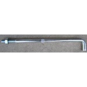 アンカーボルト 基礎アンカーボルト ユニクロメッキ(13×300mm) 50本 激安価格|kenzai-yamasita