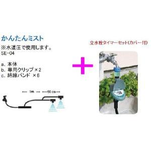 ミスト冷房 家庭用ミスト冷房 タイマー付かんたんミスト インフルエンザ・花粉・節電対策用 激安特価 kenzai-yamasita