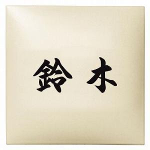 表札 戸建 タイル表札 ネームプレート クライム EAR-1-101 エクスタイル 激安表札|kenzai-yamasita