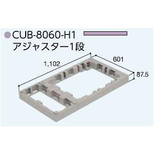 ハウスステップアジャスターCUB-8060H1(CUB-8060 CUB-8060に対応) 掃き出し窓・勝手口の段差解消ステップ 送料無料 kenzai-yamasita