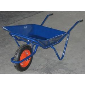 土木工事・農作業に運搬用一輪車・2才(カート車)・浅型(猫ネコねこ車)激安特価|kenzai-yamasita