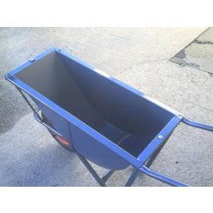 土木工事・農作業に運搬用一輪車(カート車)・幅狭タイプ・深型(猫ネコねこ車)激安特価 ガーデニング ゴミ出し|kenzai-yamasita