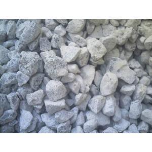 送料込 石灰石(砕石) 化粧砂利  30m2分 防犯 防草に 大阪・奈良の一部限定|kenzai-yamasita