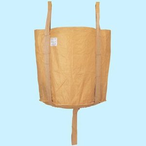 フレコンパック コンテナバック 角型 10個セット 激安価格 (法面保護・河川の仮堰止め・建材・残土・廃棄物の運搬に)|kenzai-yamasita