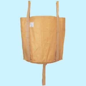 フレコンパック コンテナバック 丸型 10個セット 激安価格 (法面保護・河川の仮堰止め・建材・残土・廃棄物の運搬に)|kenzai-yamasita