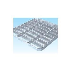 グレーチング会所ます200mm用  並目ノンスリップ 適応荷重T-14 WT-X14-20 グレーチング本体寸法230×220×25mm 1.7kg|kenzai-yamasita
