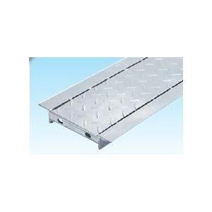 グレーチング縞鋼板付U字側溝240mm用形式記号WUCH-X14-24  230×302×995×532重量15.3kg |kenzai-yamasita