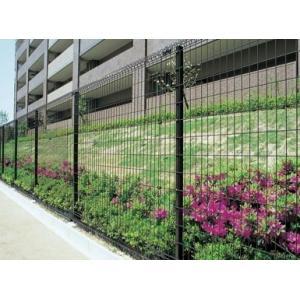 メッシュフェンスG10  高さ1200用B柱(接続金具・固定フックセット含む)ブロック塀用柱 積水樹脂