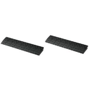 駐車場・ガレージの段差解消スロープ 高さ5cm用ロードアップG 6005(2個セット)600×150×H45mm 送料無料|kenzai-yamasita