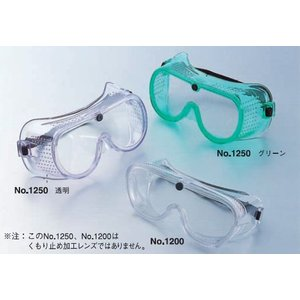 TOYO 防じん(防塵)メガネ多孔タイプ 埃の多い現場など NO.1250 トーヨーセフティー激安 kenzai-yamasita