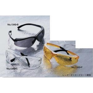 TOYO 花粉用メガネ 超軽量 レジャー兼用高級タイプ NO.1342 トーヨーセフティー激安 kenzai-yamasita
