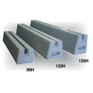 エアコンの室外機・物置の土台 スライドブロック NSLB-90-200 上辺80mm底辺100mm高さ90mm長さ200mm 重量 3.8kg 付属ボルトM10-30BT1個付