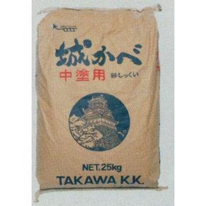 田川産業 城かべ中塗用 25kg|kenzai-yamasita