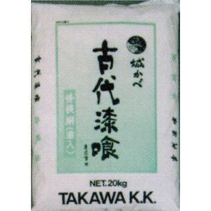 田川産業 古代漆喰外装用 練り漆喰 20kg|kenzai-yamasita