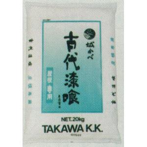 田川産業 古代漆喰屋根中塗用 練り漆喰 20kg|kenzai-yamasita