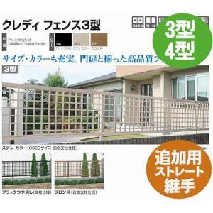 フェンス【四国化成】 クレディフェンス3型、4型(追加用ストレート継手2ヶ入)01FST-|kenzai-yamasita