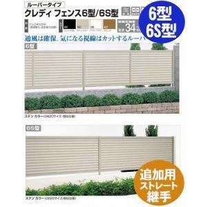 フェンス【四国化成】 クレディフェンス6型、6S型(追加用ストレート継手2ヶ入)01FST-|kenzai-yamasita